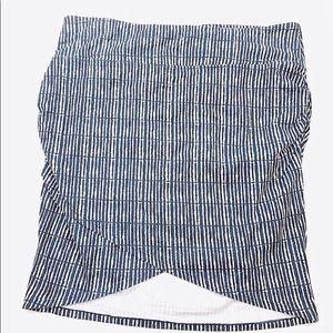 Athleta Fux Wrap Midi Skirt